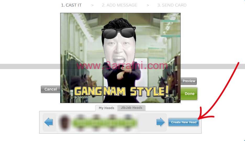 21 ركب صورتك علي فديو جانجام استايل | gangnam style