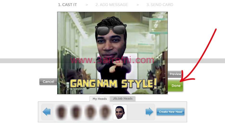 7 ركب صورتك علي فديو جانجام استايل | gangnam style