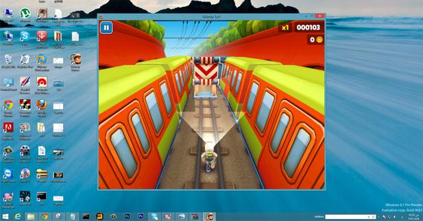 تحميل لعبه سابوي سيرف للكمبيوتر Subway Surfers