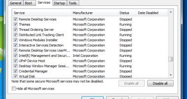 تسريع اقلاع الويندوز بدون برامج