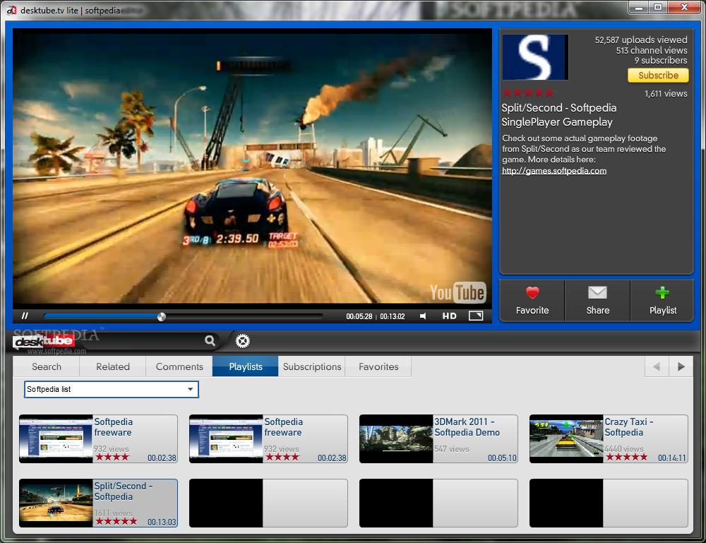مشاهده فديوهات اليوتويب علي سطح المكتب