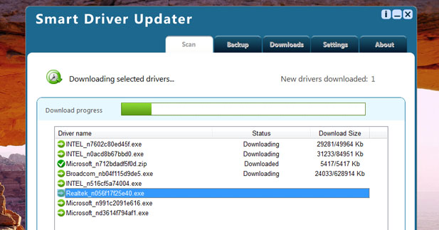 برنامج Smart Driver Updater لجلب تعريفات