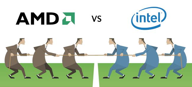 الفرق بين Intel و AMD ببساطه