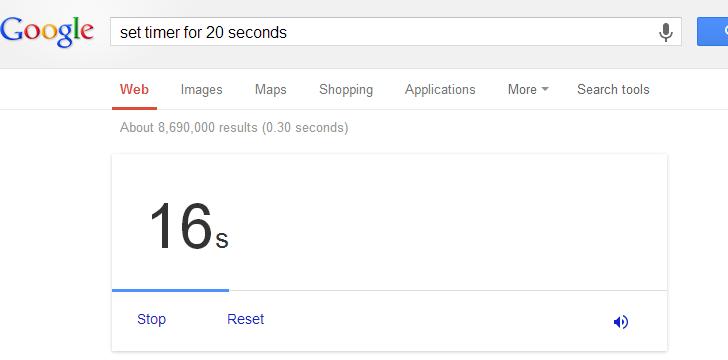 مؤقت جوجل – Google Timer