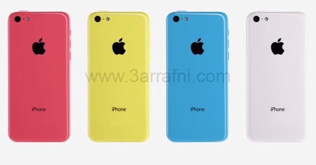 موضوع شامل بالصور والفيديو مواصفات iPhone 5C مع السعر