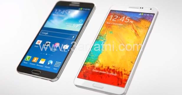 موضوع شامل بالصور والفيديو مواصفات Samsung Galaxy Note 3 والسعر (4)