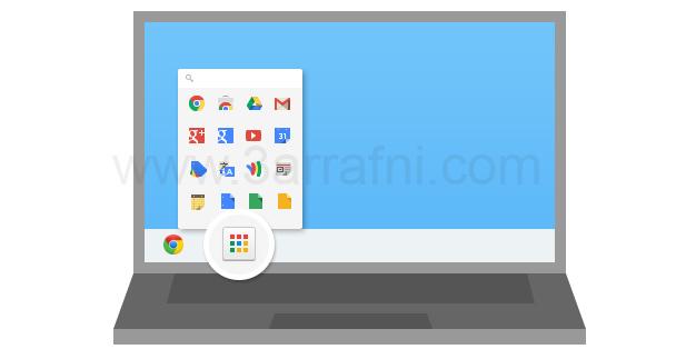 الحصول علي قائمه تطبيقات جوجل الجديده والتعديل عليها – Chrome App Launcher