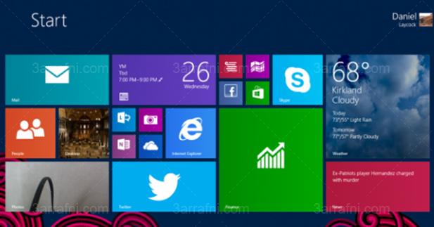 مشكلة التحديث windows 8.1 rt