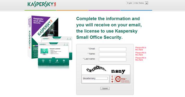 عرض للحصول علي سيريال لبرنامج Kaspersky بأسمك لمده 3 شهور