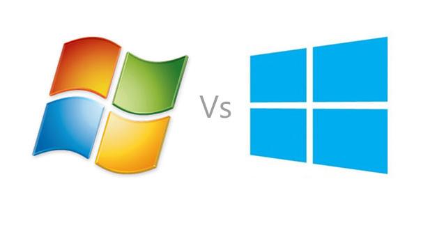 موضوع شامل عن الفرق بين نظام تشغيل windows 7 و windows 8