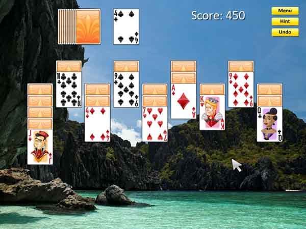 لعبة Solitaire Haven