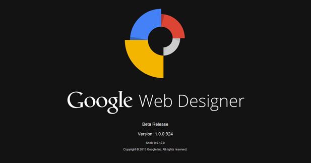 لمحه سريعه عن برنامج Google Web Designer في نسخته التجريبيه لتصميم صفحات الويب