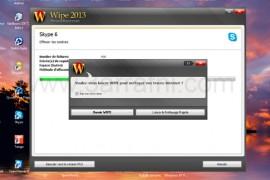 برنامج wipe لإزالة ملفات التجسس و اثار التصفح في الجهاز
