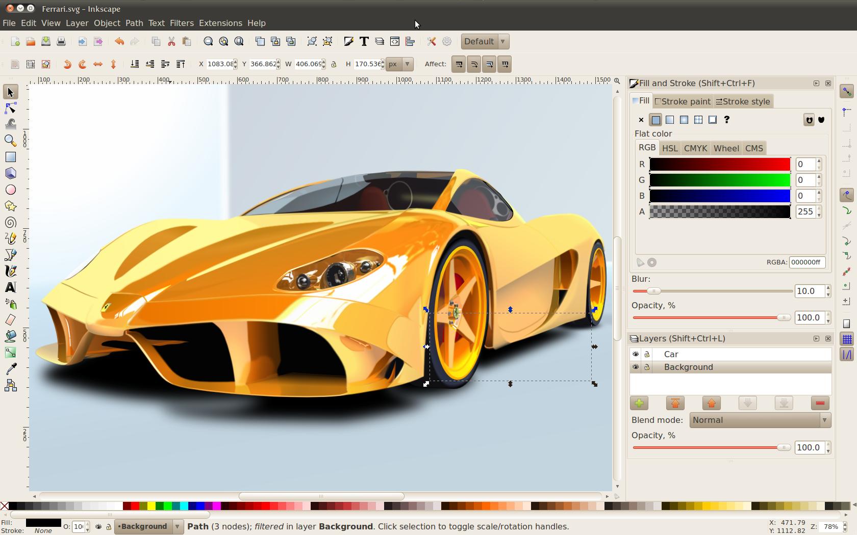 برنامج تصميم Inkscape المجاني البديل لـ Adobe Illustrator