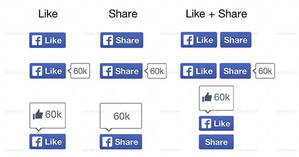 ازار الفيسبوك الجديده