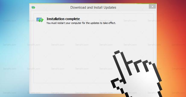 حل مشكلة توقف الماوس فجأة في windows 8.1