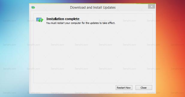 حل مشكلة توقف الماوس فجأة في الويندوز 8.1