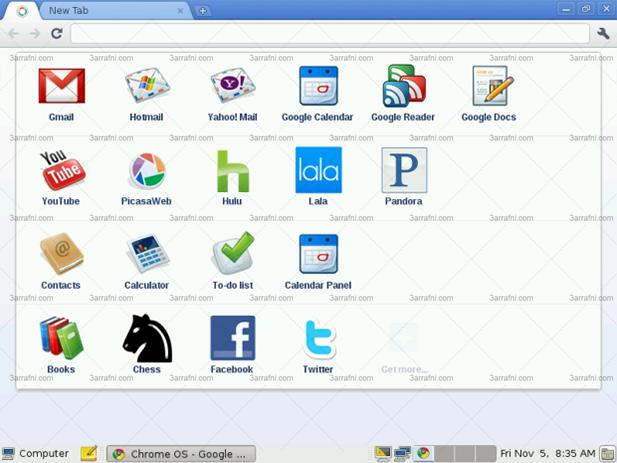 التعريف بنظام تشغيل كروم الجديد Google Chrome OS مع التحميل