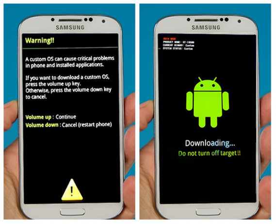 تحديث جهاز Samsung Galaxy S4 I9500 الي اصدار Jelly Bean Plus 4.3