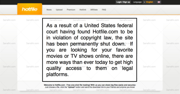 hotfile down