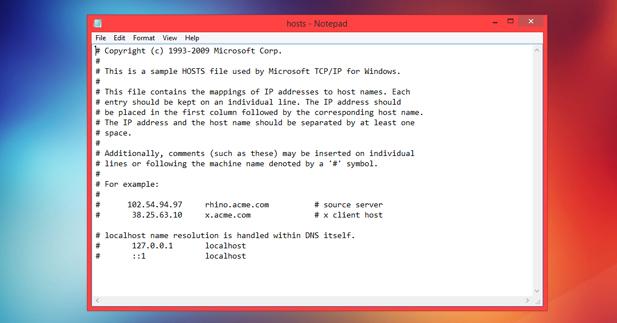 كيفيه تعديل ملف hosts المسؤول عن حجب وتشغيل المواقع علي جهازك