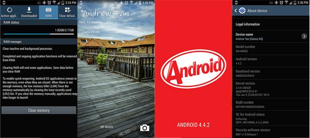 شرح تحديث اندرويد كيت كات 4.4.2 لهاتف 4G N9005 – Samsung Galaxy Note 3