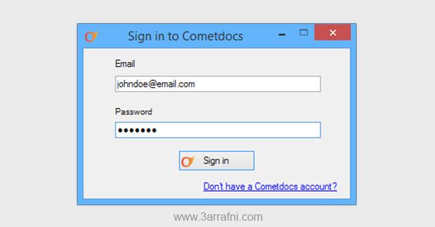 برنامج Cometdocs لتحويل PDF الي Word والعكس والعديد من الصيغ الأخرى