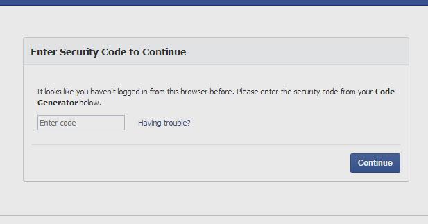 حل مشكله تأخر وصول كود للموبيل لتأكيد دخول علي حسابك علي الفيسبوك – google authenticator