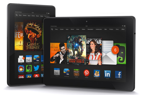 Kindle Fire HDX , Kindle Fire HDX الجهاز اللوحي , الجهاز Kindle Fire HDX , كيندل فير اتش دي اكس