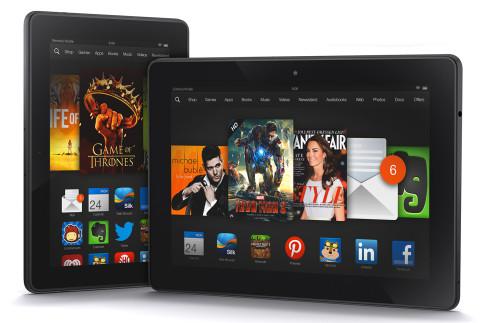 Kindle Fire HDX , Kindle Fire HDX الجهاز اللوحي , الجهاز Kindle Fire HDX , كيندل فير اتش دي اكس