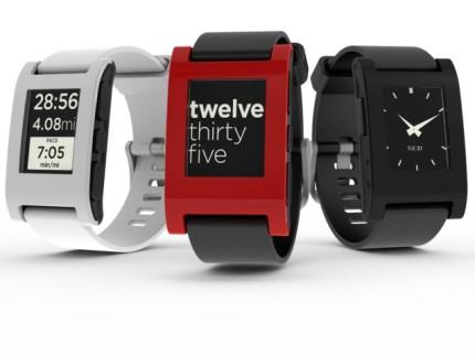 الساعة الذكية pebble , الساعة الذكية 2014 pebble , pebble 2014 , pebble watch