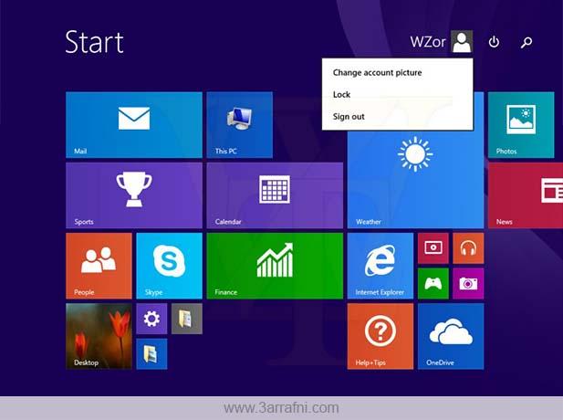 تسريب بعض الصور حول تحديث Windows 8.1 Update 1 القادم
