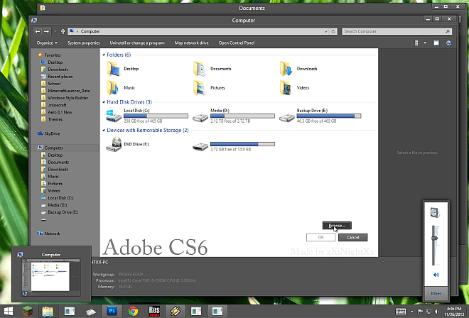 Adobe-CS6-Windows-8.1-Theme