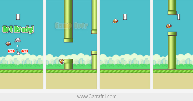 Flappy Bird scr