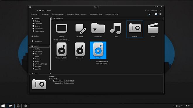 Gray8.1-Windows-8.1-Theme