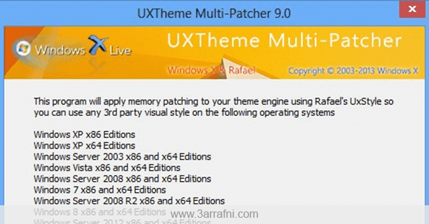 UXTheme Multi-Patcher 9.1