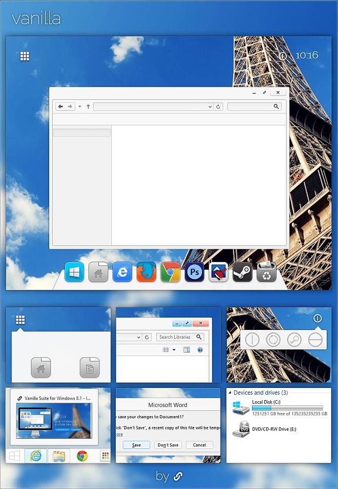 Vanilla-Windows-8.1-Theme