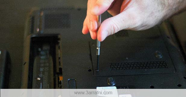 change laptop ram