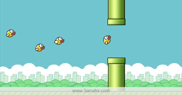 لعبه Squishy Bird للأنتقام من اللعبه الشهيره Flappy Bird