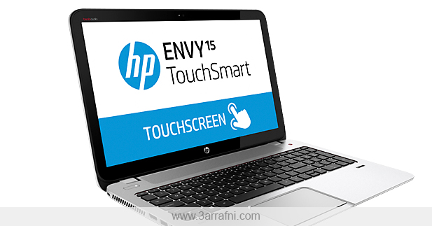 مراجعه لابتوب HP ENVY TouchSmart 15-j170us