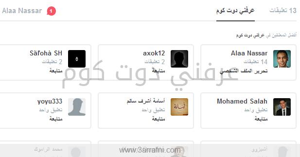 تعليقات عرباوي