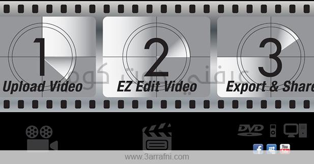 10 مواقع لتعديل ملفات Videos أون لاين بدون تحميل برامج