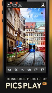 PicsPlay Pro , تطبيق PicsPlay Pro , أفضل تطبيق لتحرير الصور وإضافة التأثيرات عليها , تطبيق إضافة التاثيرات على الصور PicsPlay Pro , إضافة ثأثيرات على الصور في الايفون