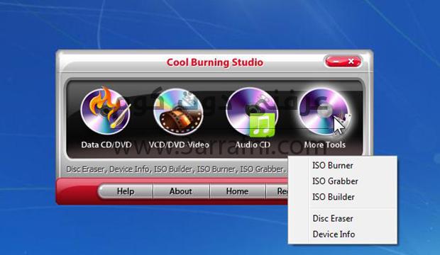 أفضل برنامج لحرق ونسخ الأسطوانات Cool Burning Studio