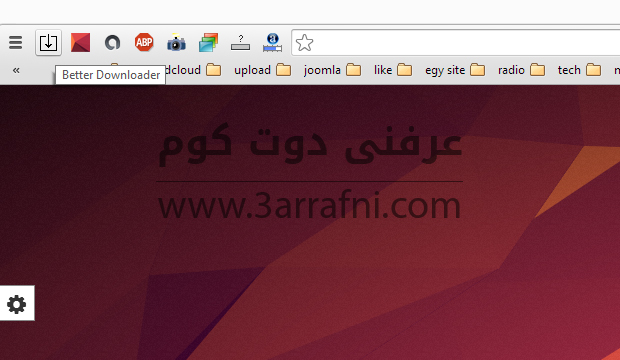Download Notifier bar