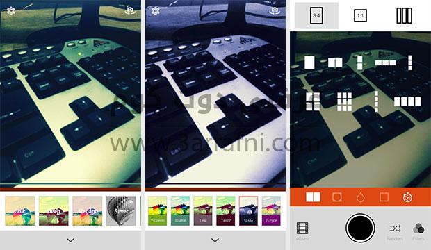 أفضل 3 تطبيقات للتصوير لهواتف الاندرويد  Retrica