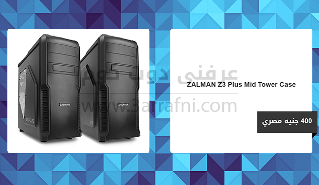 ZALMAN Z3 Plus Mid Tower Case