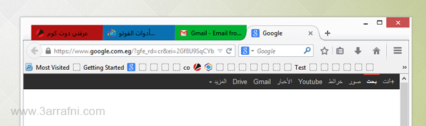 اضافه Tab Colors لتلوين النوافذ في فايروفوكس لتسهيل الوصول لها
