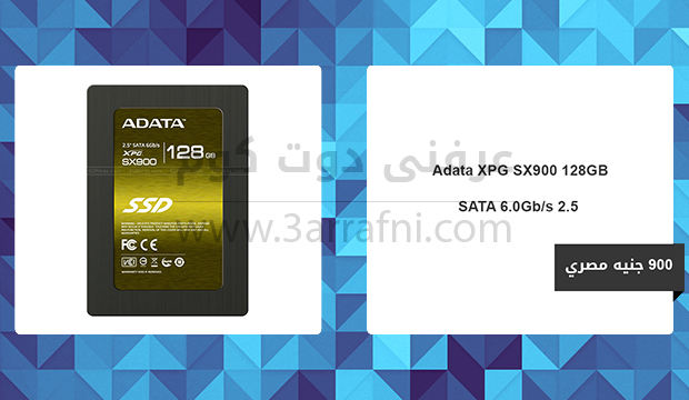Adata XPG SX900 128GB SATA 6.0Gb s 2.5 inch Solid State Drive
