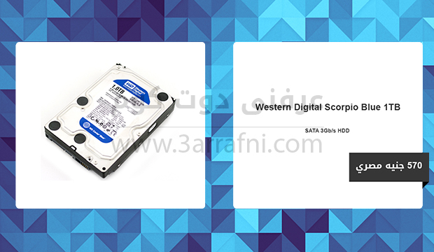 Western Digital Scorpio Blue 1TB SATA 3Gb